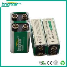 Bateria alcalina 9v 6lr61 6am6 6f22 bateria 9v