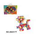 24PCS Solid Blocks for Preschool Toddlers Girls