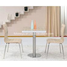 Neueste Edelstahl-Aluminium-Legierung Sealed Cafe Tabelle (FOH-BC12)
