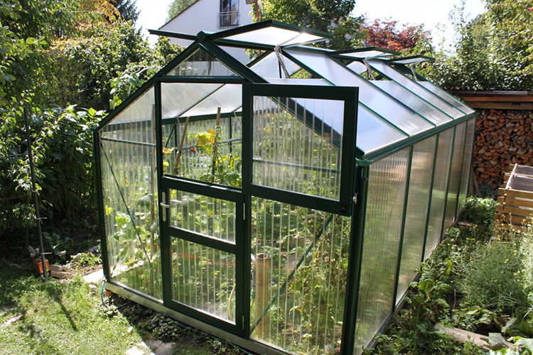 PC broad garden greenhouse