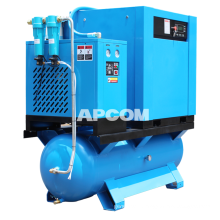 Low Noise Oilfreeaircompressor Oilless Screw AirCompressor 7.5kw 11kw 15kw Medical Oil Free Air Compressor Air Compressor Price