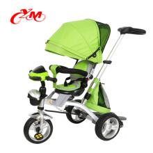Fabrik Großhandel niedrigen Preis Baby Push Dreirad / beste Qualität Dreirad mit Baldachin / kleine Kinder Dreirad für 1 Jahr alt