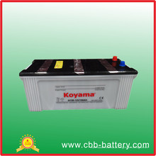 Bateria recarregável resistente padrão padrão N150 da pilha seca da bateria do veículo de JIS
