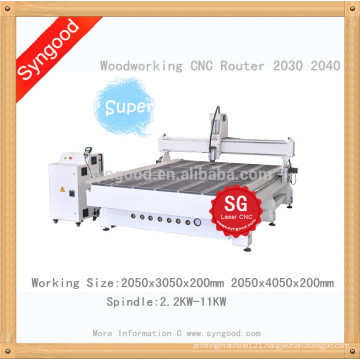 Big Woodworking Wood Furniture for SG 2.0*3.0m Router CNC