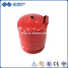 Empty Gas Refillable 3kg LPG Cylinder Gas Bottle