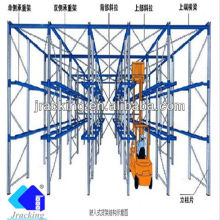 China High Density warehouse storage solution pallet racking Drive in Rack