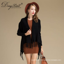 Mesdames laine poncho châle Cashmere Nepal Poncho pull