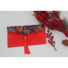 bolsas de tecido de brocado de cetim
