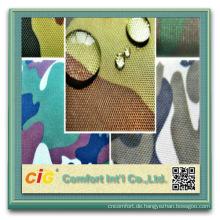 Baumwolle oder Polyester für Zelt für Uniform Water Resistant Camouflage Fabric