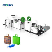 Leader fully automatic non woven bag making machine, box bag making machine non woven