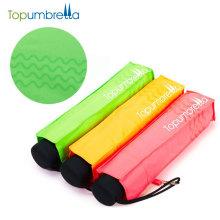 fashional fluoreszierende Farbe 99% UV Schutz Werbung Falten Geschenk Regenschirm