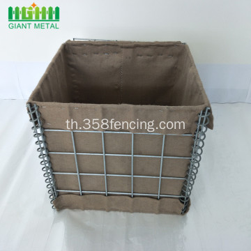 ขายร้อน PVC Coated Hesco Barrier