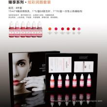 Goochie Orgânica Saudável Cosméticos Tattoo Lip Pigment Kit