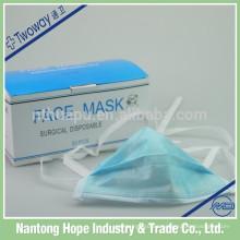 Máscara facial no tejida de 3 capas de higiene
