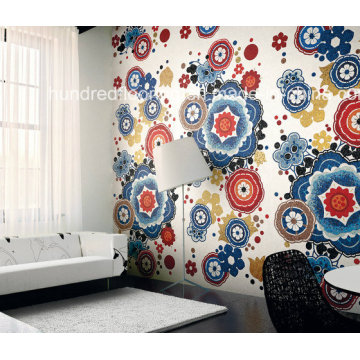 Artistic Picture Pattern Made of Mosaic Glass Tile (HMP855)