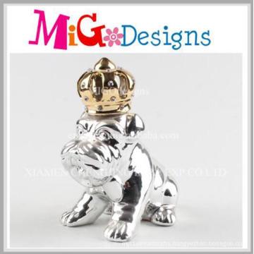 Handmade Lovely Design Ceramic Dog Money Bank