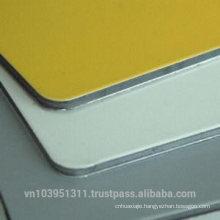 Unbroken core aluminum composite panel size 1220*2440mm for wall cladding