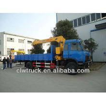 Dongfeng 12 toneladas camión grúa de carga