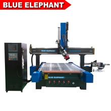 Máquina de grabado de madera del CNC 5d / máquina de talla de madera del CNC 3d con alta calidad