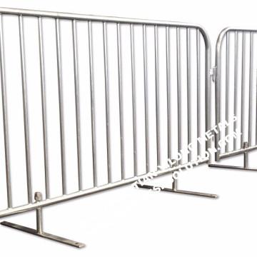 Crowd Control Barrier aus feuerverzinktem Metall