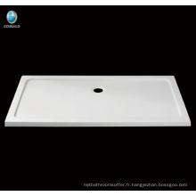 Receveur de douche rectangulaire en acrylique, receveur de douche