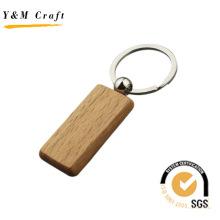 Kundengebundener leerer hölzerner Schlüsselring mit hoher Qualität (Y04302)
