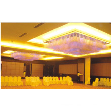 GU10 50W with LED 1W Crystal Stainless Steel Project Light for Hetel Decoration
