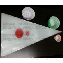 pastry bags, piping bags, polythene pastry bags, chef bags, chef supplies, cake decorations, baking packaging