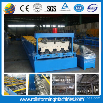 ZT-003-151 Lantai Metal Deck Sheet Roll Forming Machine