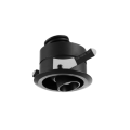 Black Modern 3W LED Downlight