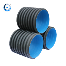 Pipe wholesale DN300mm underground double wall corrugated hdpe pipe