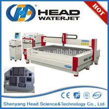 High volume water jet cutting front panel cutting machine