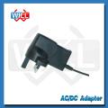 BS CE montado en la pared de conmutación a dc UK adaptador de corriente