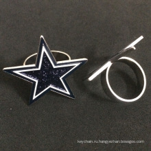 Пяти конечная Звезда формы изготовленный на заказ значки штыря для защиты