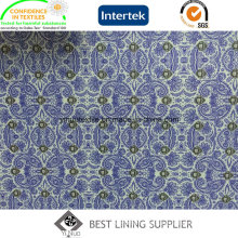 100 Polyester Men′s Jacket Print Lining Fabric Supplier