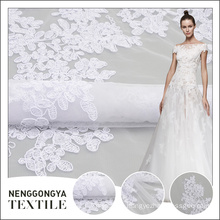 High quality professional popular elegant bridal embroidery fabric in bangalore