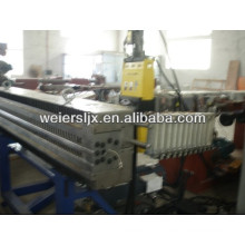 PC hollow grid board production line