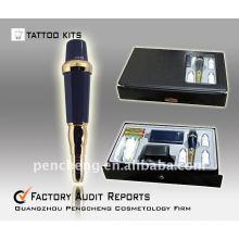 Kit de máquina de tatuagem de sobrancelha - dispositivo profissional de baixo ruído