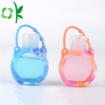 Silicone Pocket Hand Liquid Bottles Sanitizer Cover Houder