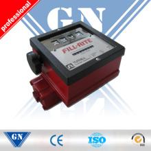 Medidor de fluxo diesel do combustível do medidor de fluxo de Digitas do baixo custo, medidor de fluxo pesado do fuel-óleo com o ISO aprovado