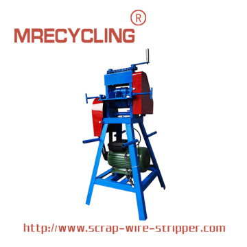 Menggunakan Copper Wire Stripper Machine