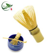EN TIENDA Bamboo Matcha Whisk - Japonés en polvo Té Verde Calidad 80 dientes