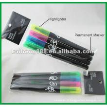 Caneta de marcador não-tóxico com pontas duplo