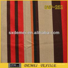 canapé rayé toile tissu coton pas cher tissu Chine impression tropicale