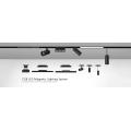 6w складной светодиодный светильник для решетки светодиодного трекового освещения