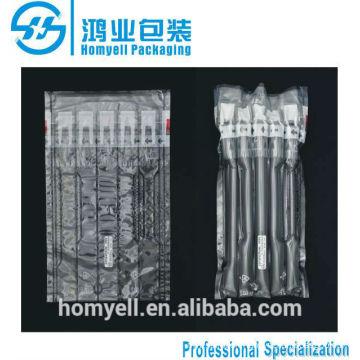 plastic air cushion bag filling packaging for toner cartridge HP35A/36A/88A,air bag packing material,self sealing air pouch