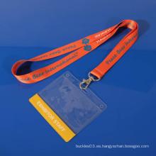 De alta calidad personalizada de plástico transparente suave pvc exhibición titular de la tarjeta