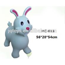 PVC inflable saltar animal saltando conejo