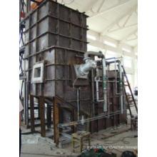 Horno de fusión centralizado continuo de gas natural