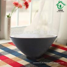 Conception personnalisée Round Green Moroccan Handmade Ceramic Bowl